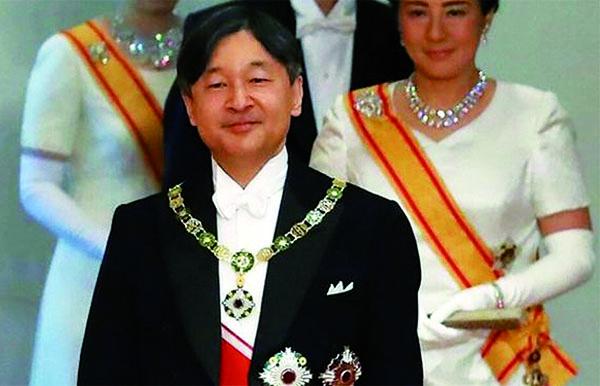 PRIMER SALUDO  DE LA ERA 新しい天皇陛下が即位  「令和」始まる