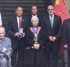 CANCILLERÍA CONDECORA POR  170 AÑOS DE PRESENCIA CHINA